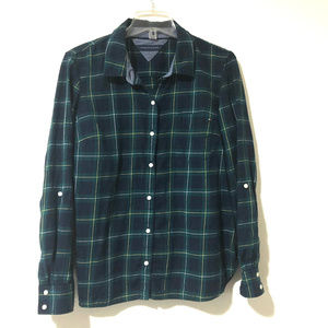 Tommy Hilfiger Plaid Flannel Shirt
